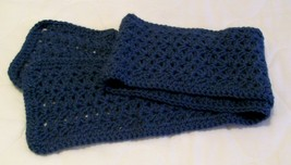 Handmade, Crochet Straight Scarf, Fashion, Accessories, Women, Long Scarf - $40.00