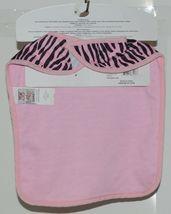 Baby Ganz Girl Pink Black Zebra Pattern Matching Gift Set image 8