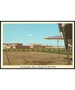 Maxwell Air Force Base Postcard Alabama Montgomery Air University Librar... - $14.99