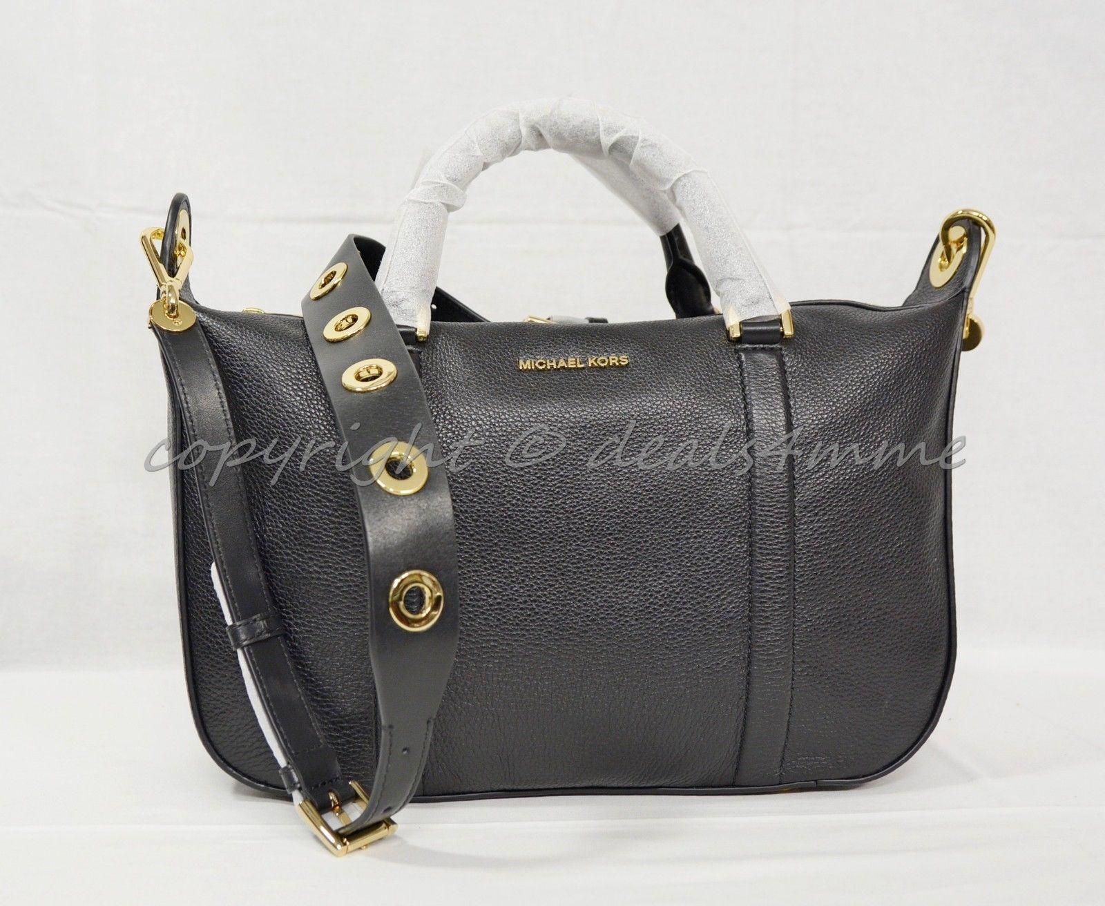 b3b4bd6a35b7 Michael Kors Raven Grommet Large Leather and 50 similar items. S l1600