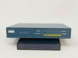 Cisco Pix 501 Firewall 4 ports - Untested - power supply not included - $9.89