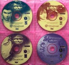 ☆ Shenmue (Sega Dreamcast 2000) RARE Complete Game DISCS 1 2 3 4 Passpor... - $25.00