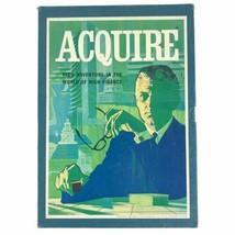 Vintage 1968 Acquire Board Game 3M Bookshelf Acquire High Finance Wealth Build - $42.03