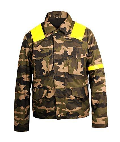 Mens 21 Twenty One Pilots Trench Camouflage Levitate Cotton Jacket