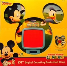 """Count Mickey Mouse Clubhouse 24"""" Digitaling Basketball Hoop Mickey Mouse... - $18.49"""