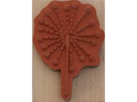 A Muse Artstamps Sparkler Wood Mounted Rubber Stamp #2-7126C image 2