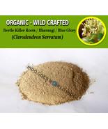 POWDER Beetle Killer Roots Bharangi Blue Glory Clerodendron Serratum Org... - $16.80+