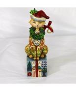 Jim Shore Santa Claws Figurine 2007 Heartwood Creek Home Decor 4007977 FLAW - $9.89