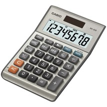 CASIO(R) MS80SSIH Solar Desktop Calculator with 8-Digit Display - $26.97