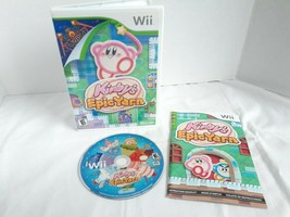 Kirby's Epic Yarn Nintendo Wii 2010 Tested & Working Complete w Case and... - $14.92