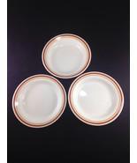 "Corelle Corning Cinnamon Rim Soup Bowl 8 1/2"" Set of 3 - $14.84"