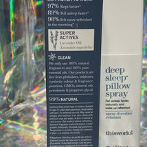 NEW IN BOX thisworks Deep Sleep Pillow Spray Lavender Fall Asleep Faster 2.5oz image 3