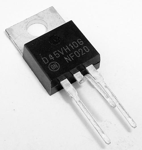 Lot of 10 D45VH10G PNP Transistor ON Semiconductor