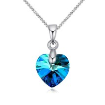 Best Quality 100% Original embellished with Crystal from Swarovski Heart... - $9.74