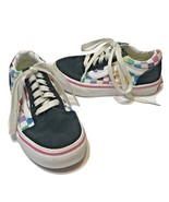 Vans Off The Wall Checkerboard Rainbow Size 10.5 Toddler Lace Up - $18.54
