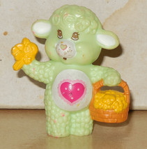 1984 Kenner Care Bears Cousin Gentleheart Lamb Mini Pvc Figure Vintage 80's - $32.55