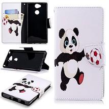 XYX Wallet Phone Case for Sony Xperia XA2,[Wrist Strap][Kickstand] Paint... - $9.88