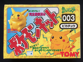 Nintendo TOMY 1995 Pokemon 003 Pikachu Wind-Up Model Kit Figure Japan MIB Rare - $19.99