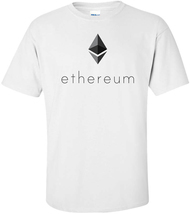 Ethereum blockchain cryptocurrency t-shirt - $15.99