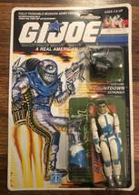 GI JOE Countdown Hasbro 1988 6527/6122 34 back MOC   - $118.80