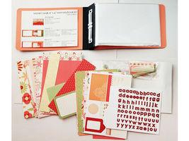"S.E.I. Scrapbook in a Bag, Winnie's Walls, a Summertime 4"" x 6"" Memory Book Kit image 3"