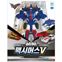 Tobot Mini Maximus V Transformation Action Figure Korean Robot Toy Leo Kiser