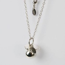 Necklace Silver 925 with Pendant Pacifier Mexican Bola by Maria Ielpo image 2
