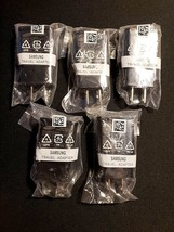 (x5) Genuine OEM Samsung Adaptive Fast Charger (Black) EP-TA20JBE NEW AFC - $24.63