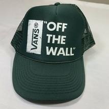 Vintage Vans Hat Trucker Cap Skateboard Snapback Off The Wall Skate Punk Ska - $19.20