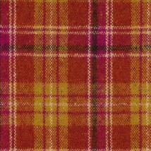 Maharam Upholstery Fabric Pressed Plaid Wool Sunset 466181–002 1.375 yds RS - $55.15