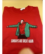 Tiger woods shirt - barstool sports - the masters - size LARGE - golf - red - $14.80
