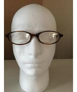 VINTAGE NAUTICA Designer EYEGLASS FRAMES-212 Light BROWN-48-17-140-ITALY... - $32.51