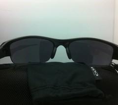 New OAKLEY Sunglasses FLAK JACKET 03-882 Polished White Frame w/ Black Iridium