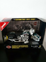 Buddy L Harley Davidson Motorcycle 1996 Heritage Softail Special Green L... - $23.50