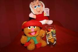 3 Vtg1981/88 McDonald's Jim Henson's Muppets Baby MISS PIGGY & FOZZIE BE... - $29.76