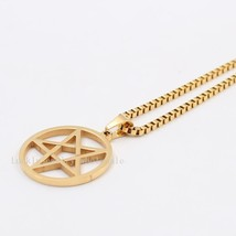 18''-30'' Unisex hip-Hop 2.4mm Square Box Chain Stainless Steel Wiccan Pagan Wic - $21.38