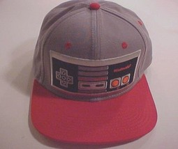 Nintendo Entertainment System 2015 Gray Red Snapback Baseball Cap One Size - $25.73