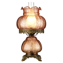 Rose Court Victorian - Style Hurricane Table Lamp - $117.90
