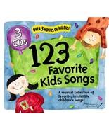 123 Favorite Kids Songs 1-3 [Audio CD] 123 Favorite Kids Song - $8.90