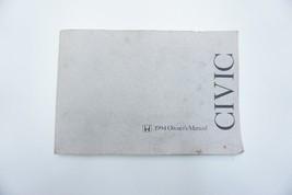 1994 Honda Civic Factory Owners Manual OEM - $24.99