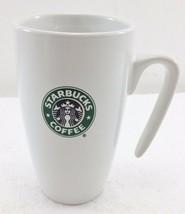 Starbucks Coffee 9 oz White Siren Mermaid Coffee Mug Cup 2007 Open Hook ... - $22.05