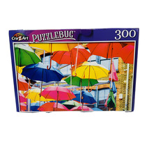 Colorful Floating Umbrellas Art Display - Puzzle - 300 Pc - New - $4.46