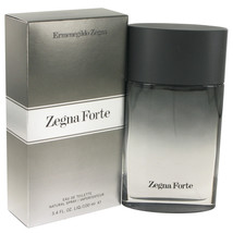 Zegna Forte by Ermenegildo Zegna Eau De Toilette  3.4 oz, Men - $36.81
