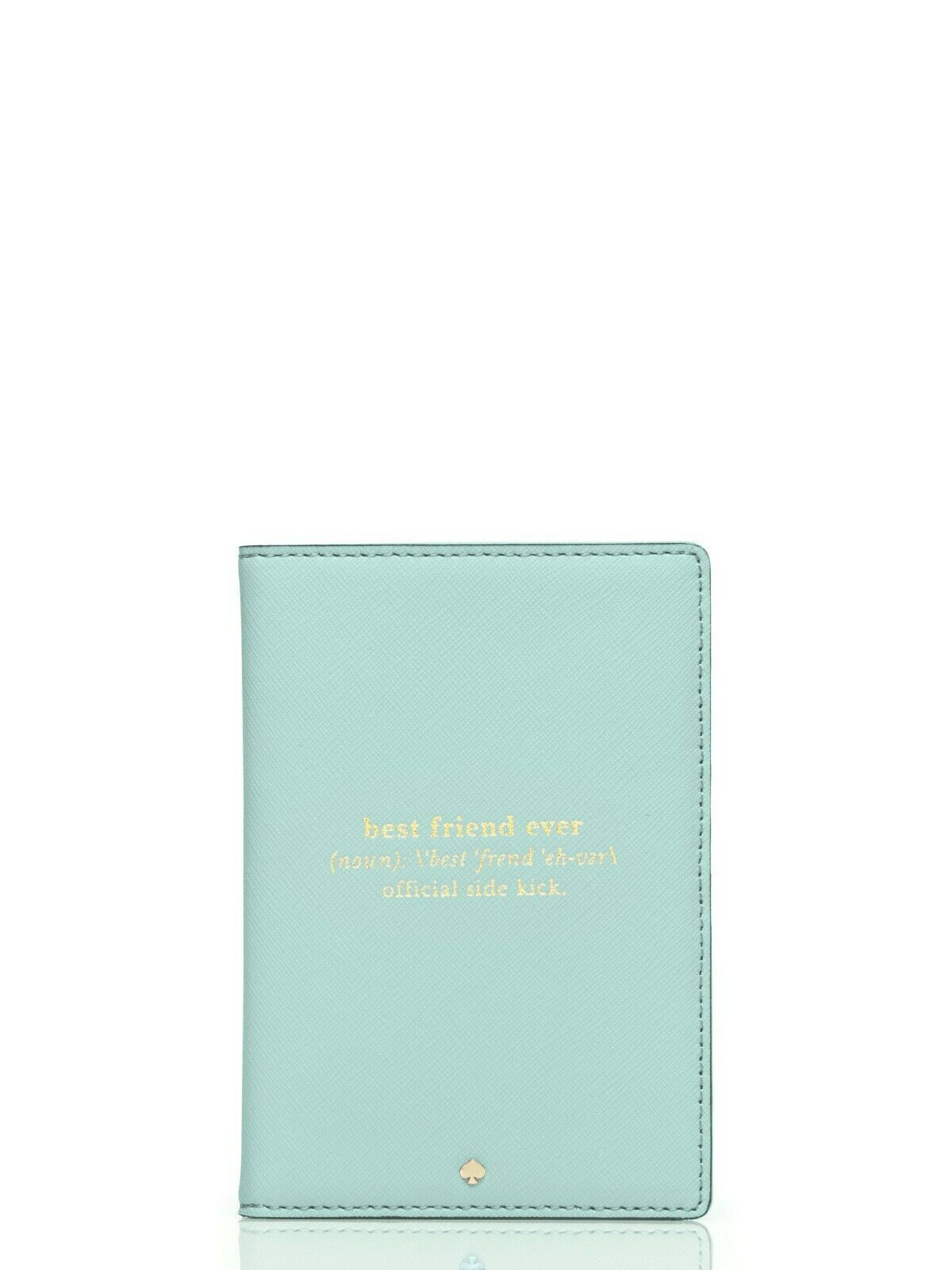 KATE SPADE PASSPORT HOLDER! Wedding Belles GRACE BLUE Best Friends Forever!