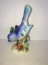 """vintage porcelain norleans bluebird Japan 6"""" - $13.75"""