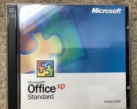 Microsoft Office XP Standard Full Version 2002 w/ Key 2 Discs - $10.93