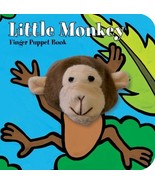 ImageBook Little Monkey Finger Puppet Book - $18.00