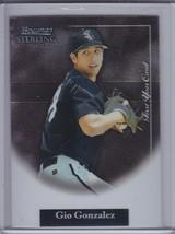 Gio Gonzalez 2004 Bowman Sterling Rc #Gig (C8886) - $3.15