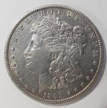 1895O MORGAN SILVER DOLLAR COIN Lot# E 326