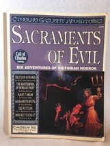 Call of Cthulhu Sacraments of Evil, Cthulhu Gaslight Adventures, Chaosium. - $51.95